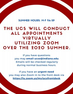 UCS Access & Hours 2020