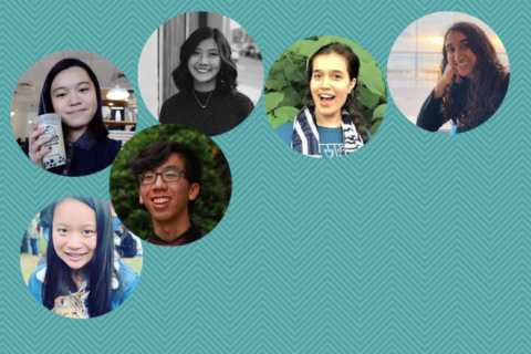 Profile pictures of the 6, First Year Advisory Board Members