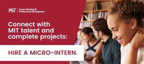 Hire a MIT Micro-intern