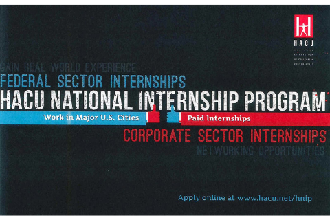 Hispanic Association of Colleges & Universities Internship Program (HNIP)