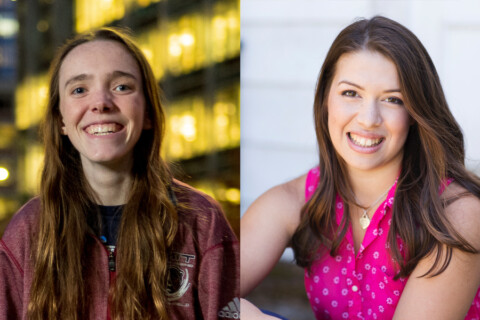 A collage of 2 MIT students' headshots