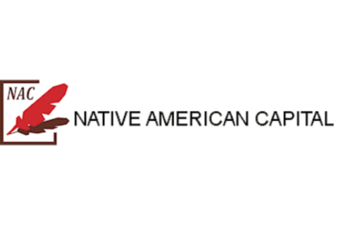 Logo with NAC and two features to the left of