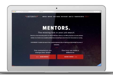 Veterati – mentoring network for the military