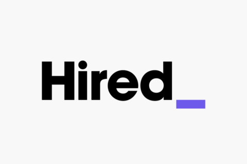 hired.com logo