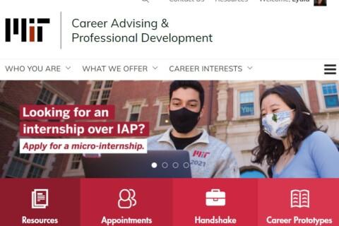 A screenshot of CAPD's homepage