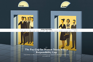 Pay Gap for Women Starts With a Responsibility Gap