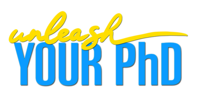 Logo for Unleash your PhD