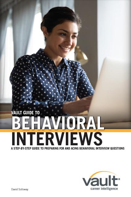 Vault Guide to Behavioral Interviews