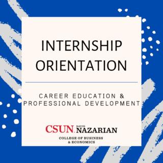 Internship Orientation Workshop (1)