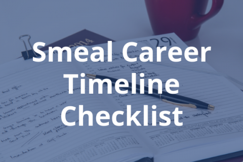 Smeal Career Timeline Checklist