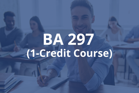 Career Planning & Strategies Course (BA297)