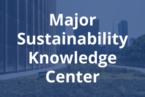 Major Sustainability Knowledge Center