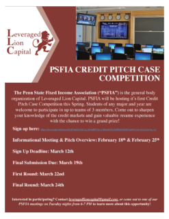 PSFIA Competition Flyer
