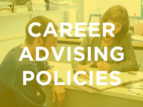 Career Advising Appointment Policies