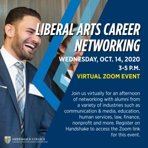Our flyer for the 2020 Liberal Arts Career Night.