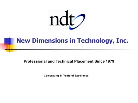 New Dimensions in Technology, Inc. (NDT)