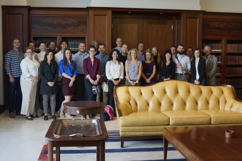 DU Law Students at Ralph Carr Aug  26 2016