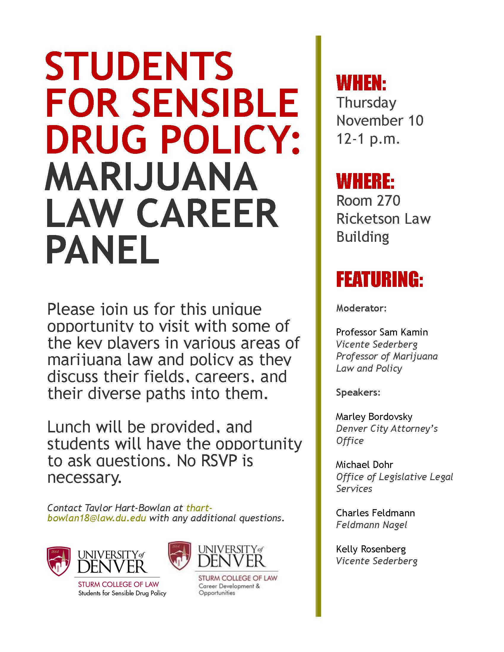 students-for-sensible-drug-policy-flyer