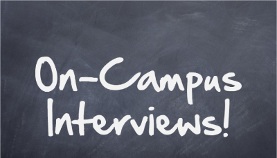 on campus interviews