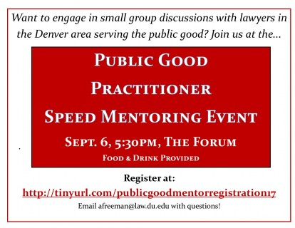 practitioner event flyer