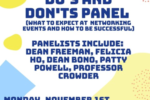 BLSA PRESENTS Networking Do's and Don'ts Panel