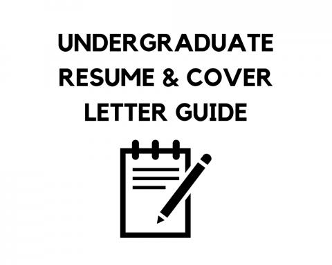 SEAS Undergraduate Resume Writing Guide
