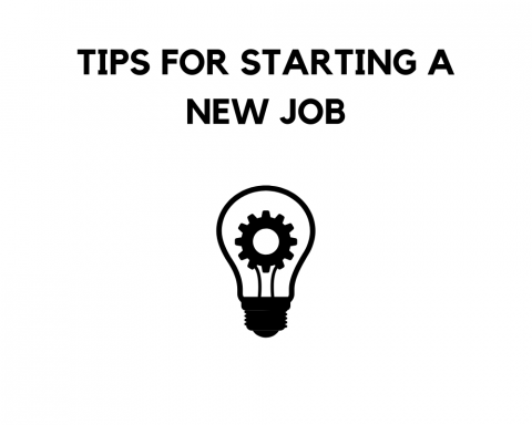 SEAS Tips for Starting a New Job
