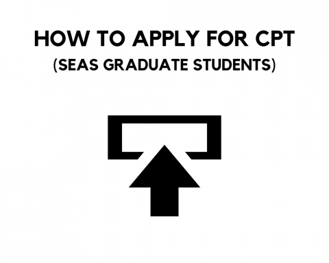 How to Apply for CPT (SEAS grad students)