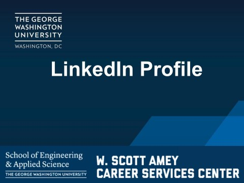 LinkedIn Profile Tips (VIDEO)