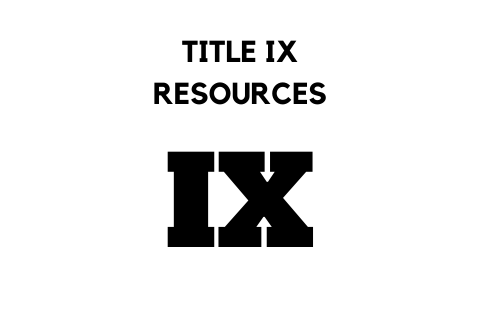 Title IX Resources
