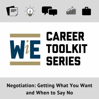 career toolkit – negotiation