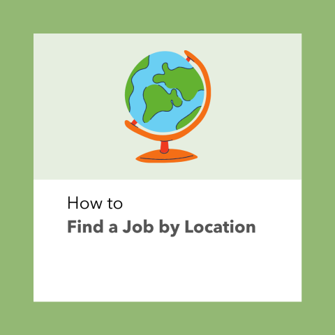How To Find a Job by Location