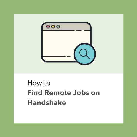 How to Find Remote Jobs on Handshake