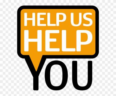 Help us help you
