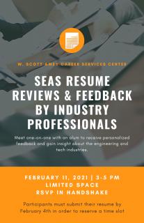 SEAS Resume Review Event 2-11