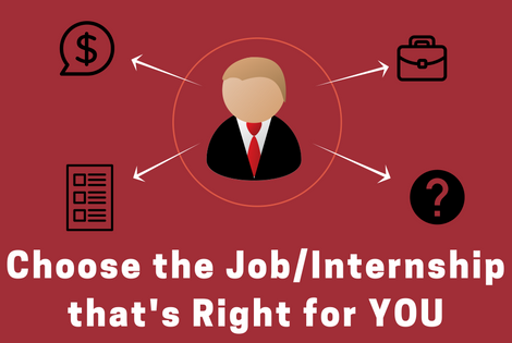 Choose the JobInternship that's Right for YOU (1)
