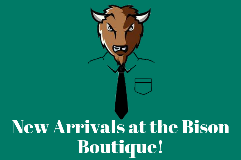 New Arrivals at the Bison Boutique!
