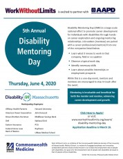 5th Annual Disability Mentoring Day