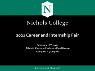 2021 Nichols College Career & Internship Fair