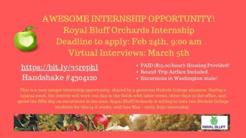 Twitter Orchard Internship