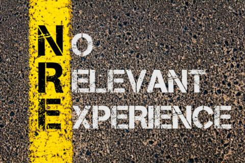 Business Acronym NRE as No Relevant Experience