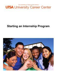 starting an internship updated