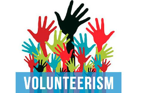 volunteerism blog title