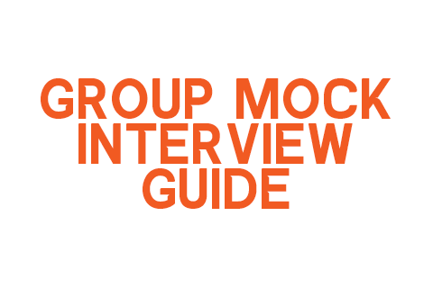 Group Mock Interview Guide