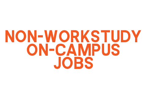 Non-Workstudy On-Campus Jobs