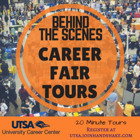 First Time to a Career Fair? Check out our Career Fair Tours!