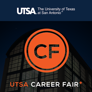Download the free UTSA Career Fair Plus App