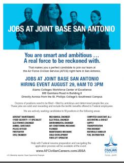 JBSA Job Fair