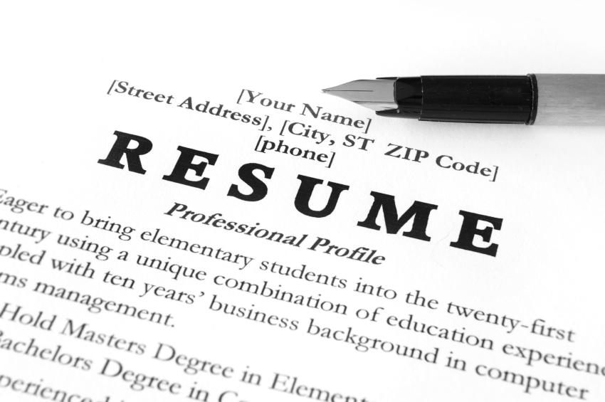 writing a resume for students