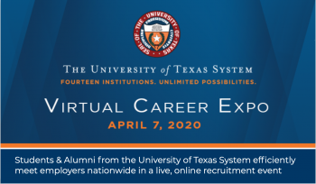 UT System Virtual Career Expo